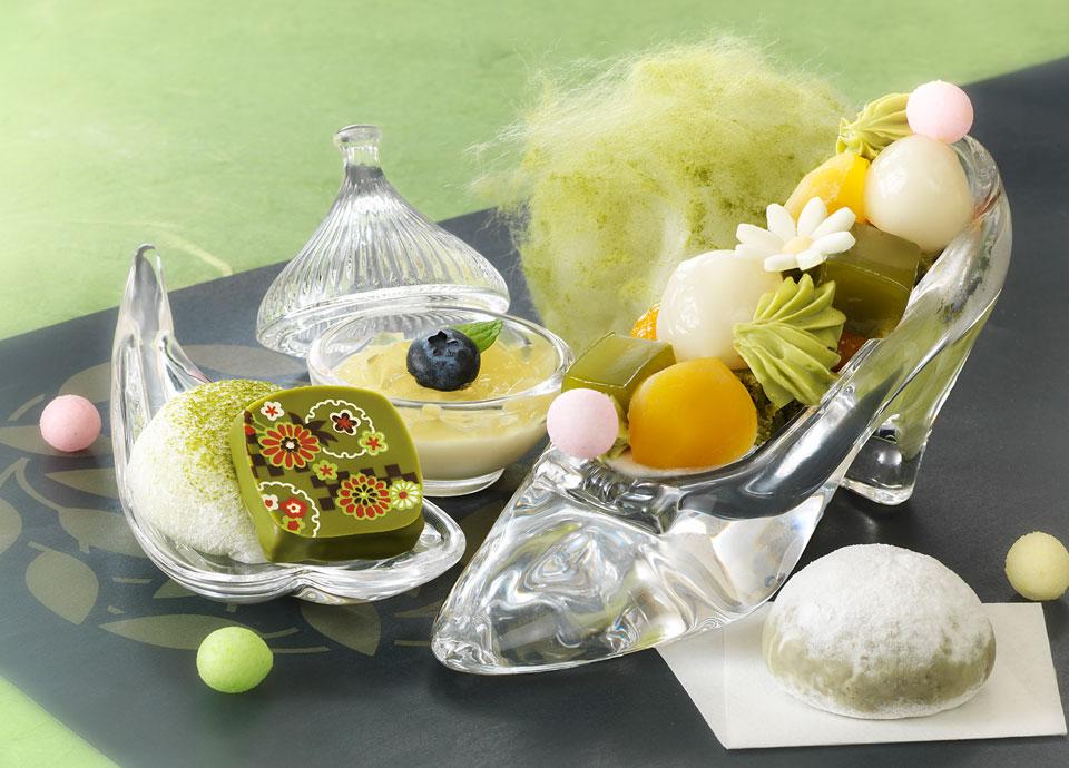 ・京都宇治 和束茶フェア・<br> [1日10食限定]デザートプレート~お茶姫~
