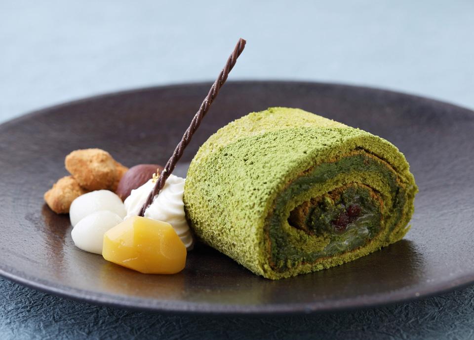 和束の抹茶 ロールケーキ