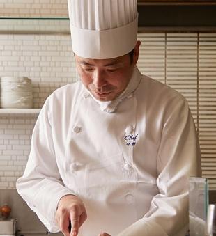 懐石フランス料理 グルマン橘 シェフ 今野 正悟
