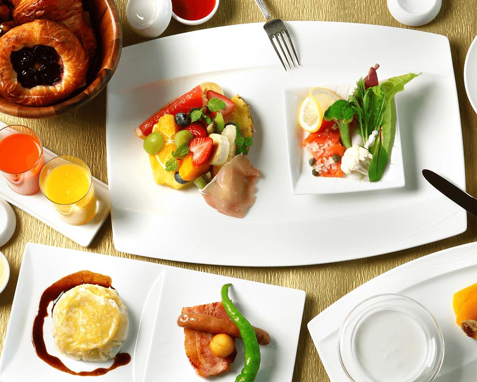 朝から優雅な朝食がコンセプト