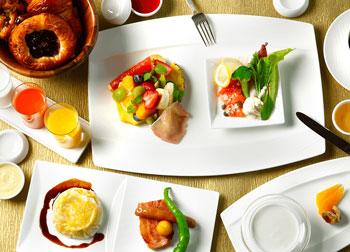 フレンチダイニング トップ オブ キョウト-朝食 360度の京景色とともに味わう優雅な朝食