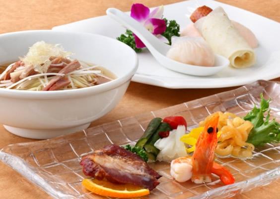 京町屋風レストランで広東料理を満喫 「皇家龍鳳」夕食付プラン