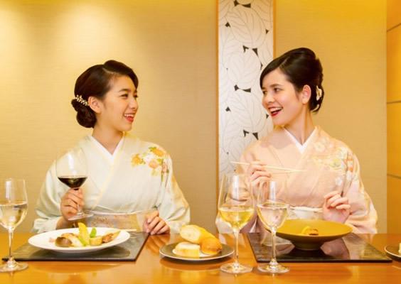 お箸で愉しむ懐石フランス料理 「グルマン橘」夕食付プラン
