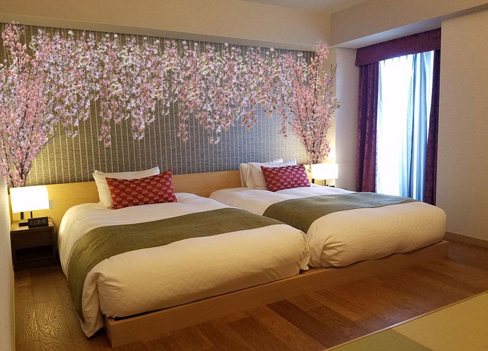 【1日1室限定】~お部屋の中でも桜を満喫~お花見ステイプラン 選べる朝食付