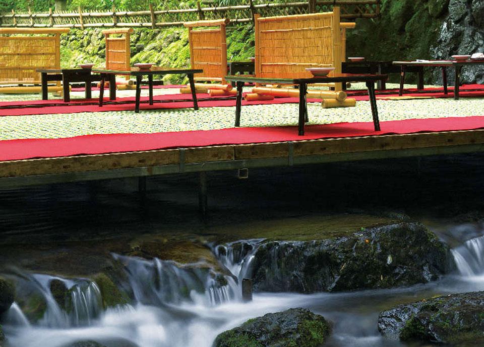 京の夏を愉しむ 納涼川床プラン