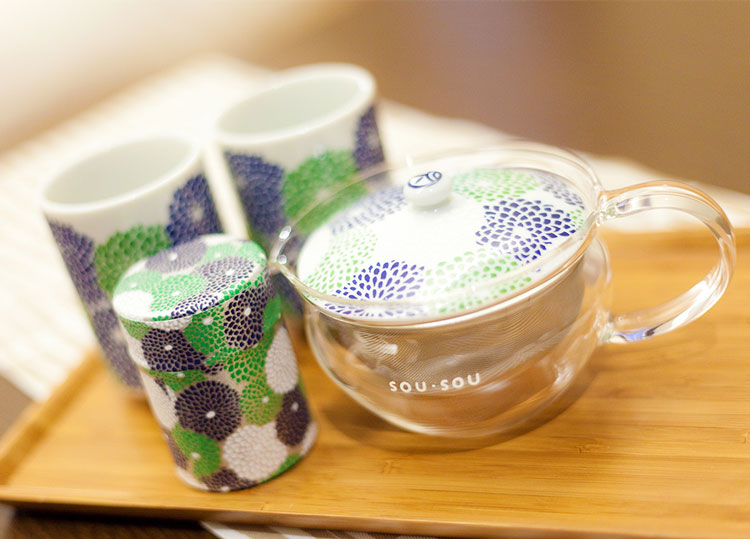 宇治田原製茶場とのコラボ茶器