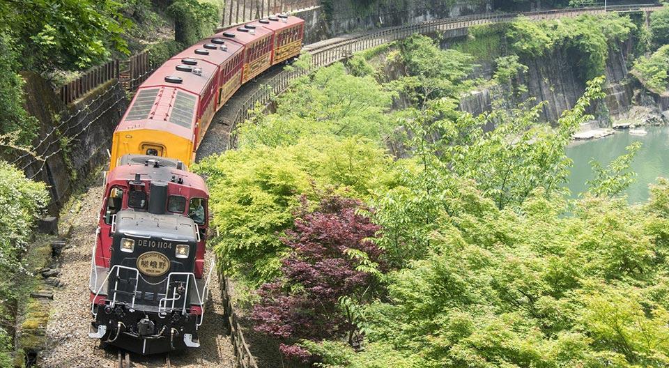 嵯峨野観光鉄道 嵯峨野トロッコ列車