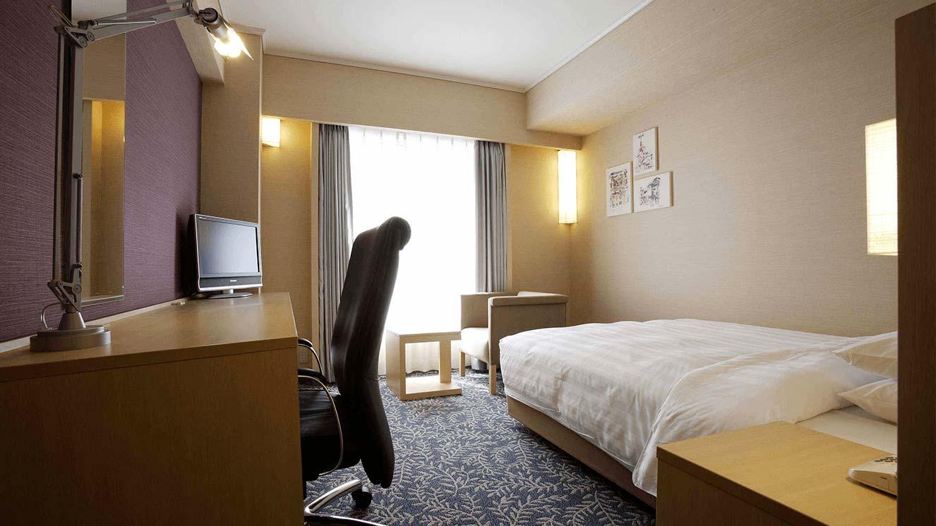 リーガロイヤルホテル(大阪)のウエストウイング・シングルの特長