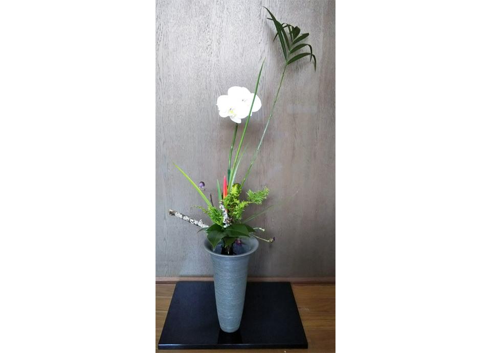 お正月の自由花 作品例 ※イメージです。