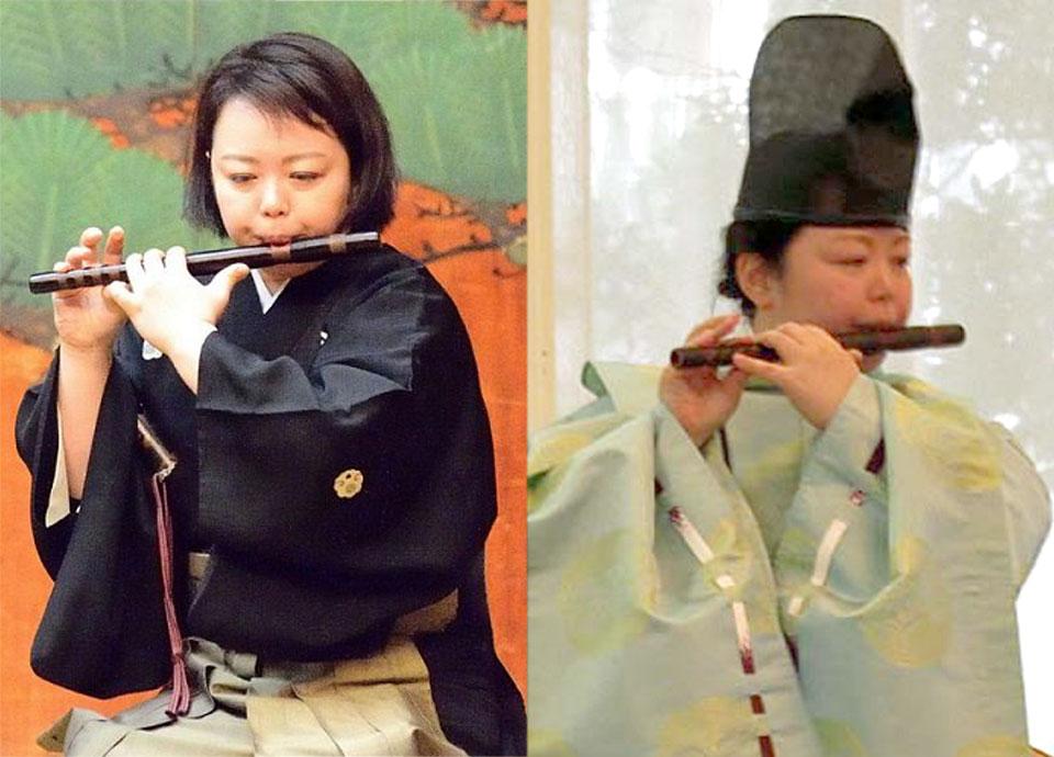 伝統の笛を奏でる ~はじめての能管・龍笛~