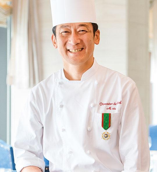 リーガロイヤルホテルグループ統括総料理長 太田 昌利