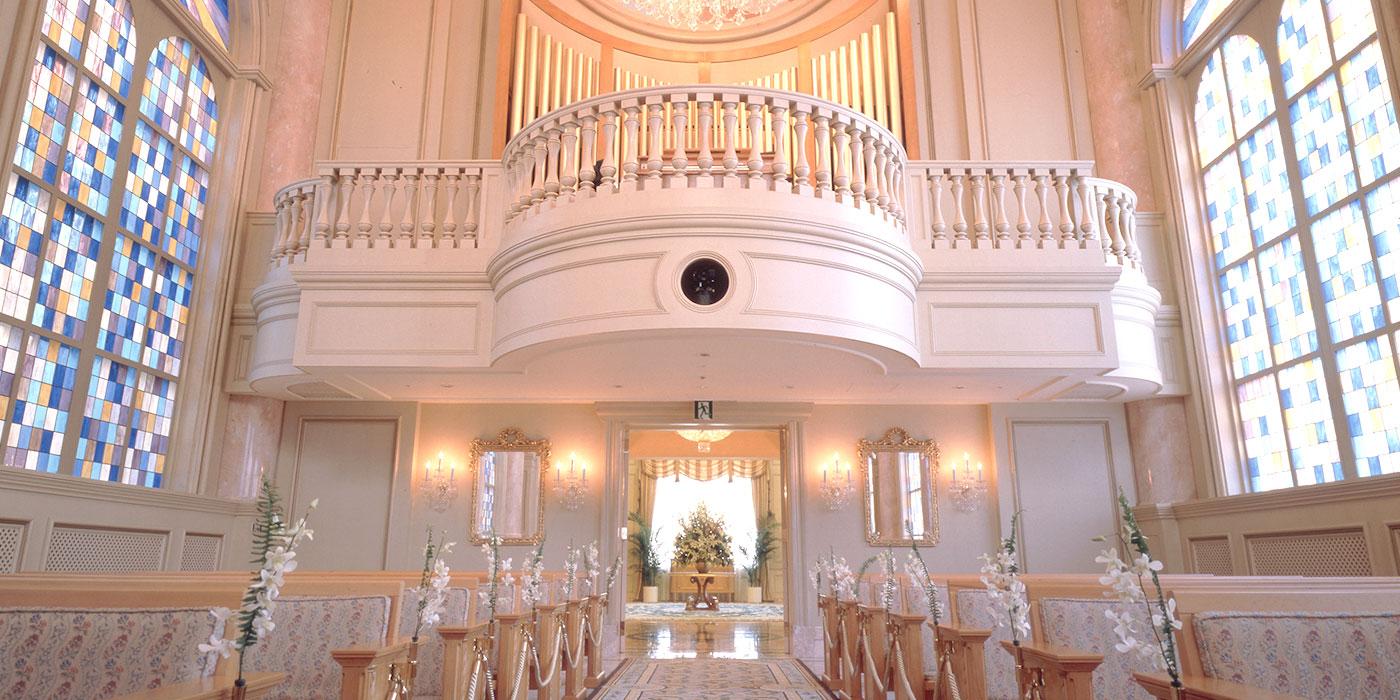 リーガロイヤルホテルのチャペルコンサート Rの音楽会
