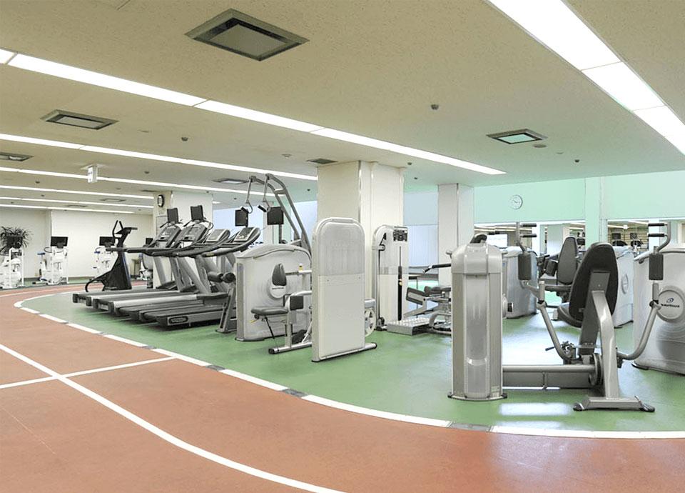 リーガロイヤルホテル(大阪)のロイヤルヘルスクラブのジムナジアム
