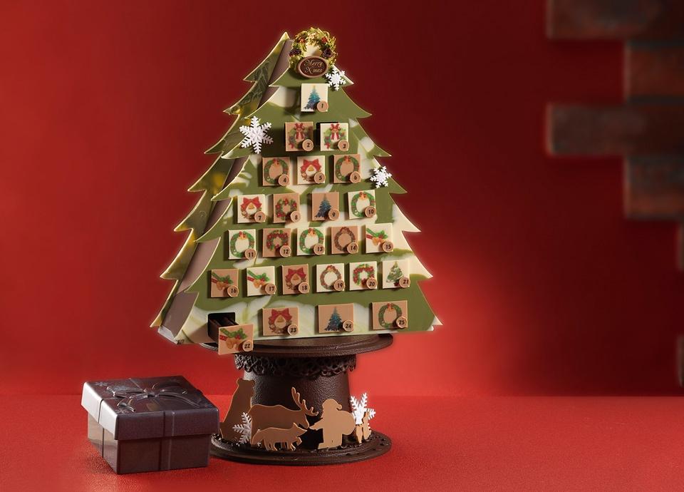 待ち遠しさとワクワク感が詰まった可愛らしいチョコレート<br>「レクラのクリスマス2018」