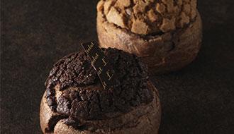 ザクザクとしたシューの食感と 2層のクリームが奏でる贅沢な味わい「コリン・ドゥ・ショコラ」