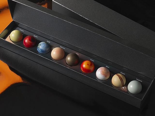 太陽系チョコ懐石