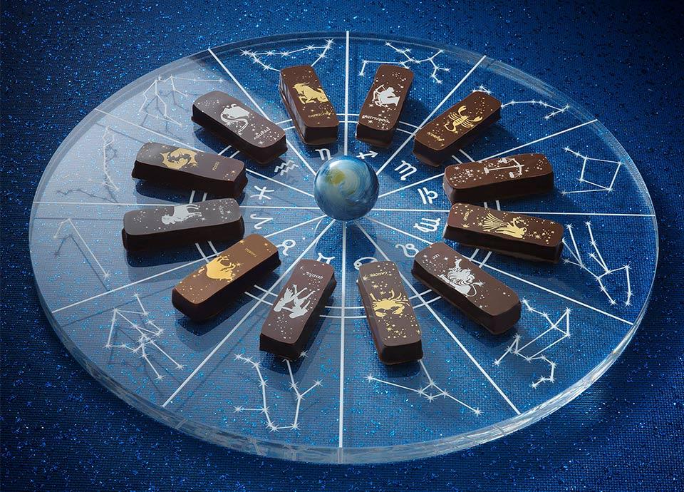 12星座の光が舞い降りたショコラ・プラネタリウム「星空の輝き」
