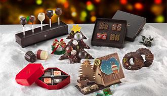 クリスマスが待ち遠しくなる可愛らしい限定ショコラが登場「レクラのクリスマス」