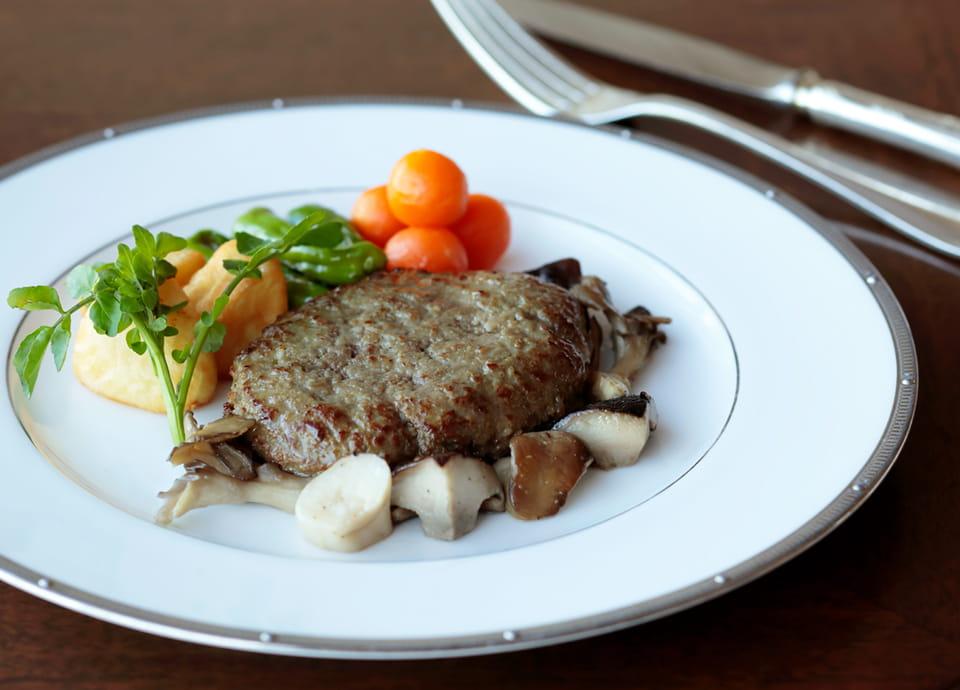 和牛ハンバーグステーキの写真