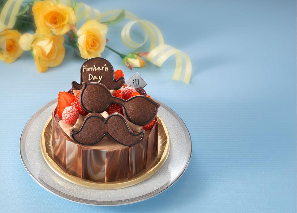 父の日生デコレーションケーキ