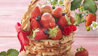 スペシャルケーキ「いちご摘み」