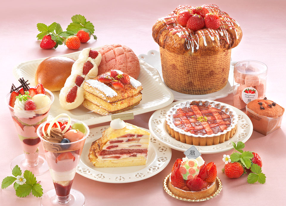 苺を使った可愛らしいケーキやパン、焼き菓子が多数ラインアップ!<br class='pc_only'>「メリッサの苺フェア」