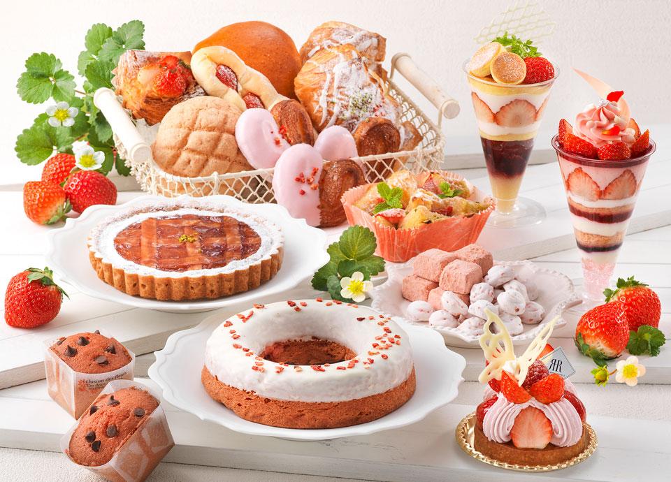 苺を使用した華やかなスイーツや<br class='pc_only'>パンが勢ぞろい!<br>「メリッサの苺フェア」