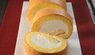 やさしい甘さのロールケーキ「シュクレロール」