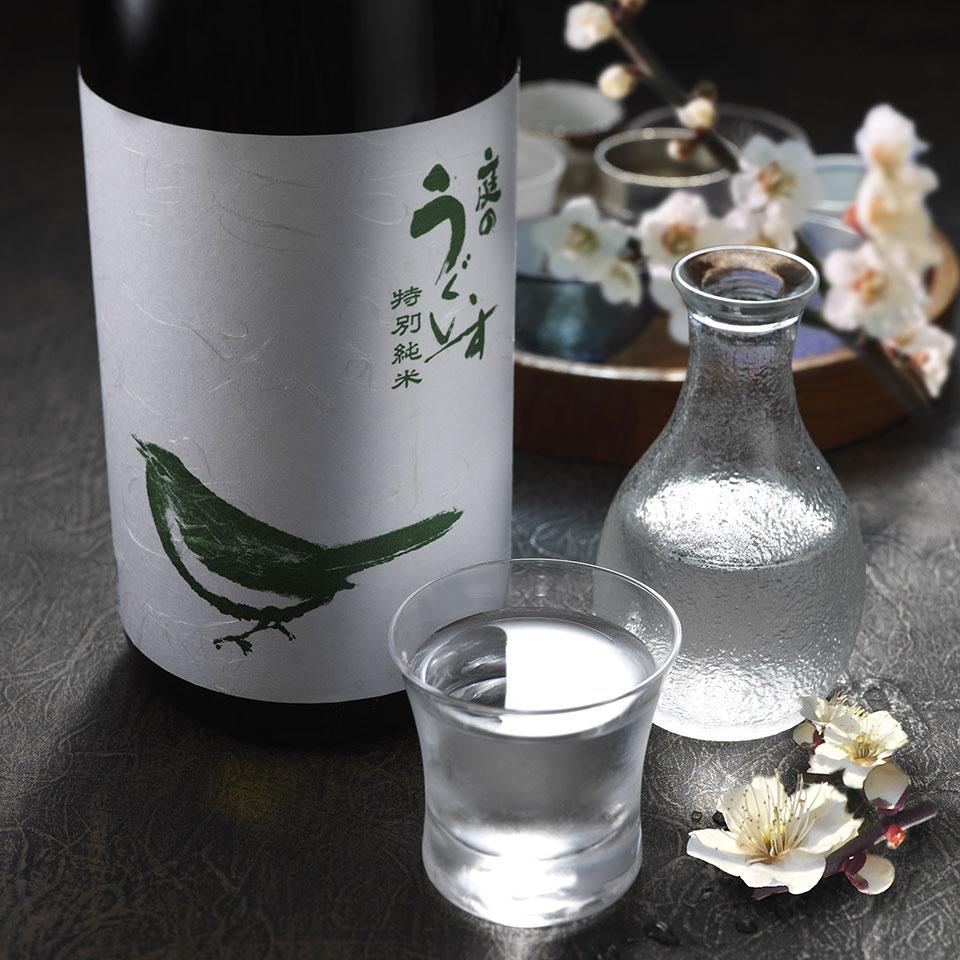 庭のうぐいす 特別純米 鶯ラベル