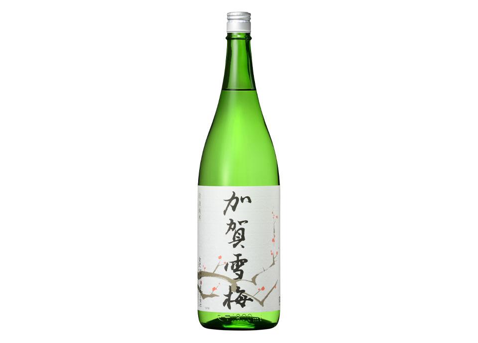 加賀雪梅純米酒