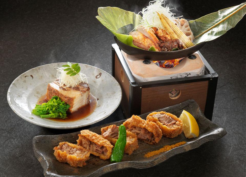 鹿児島県産食材 料理各種