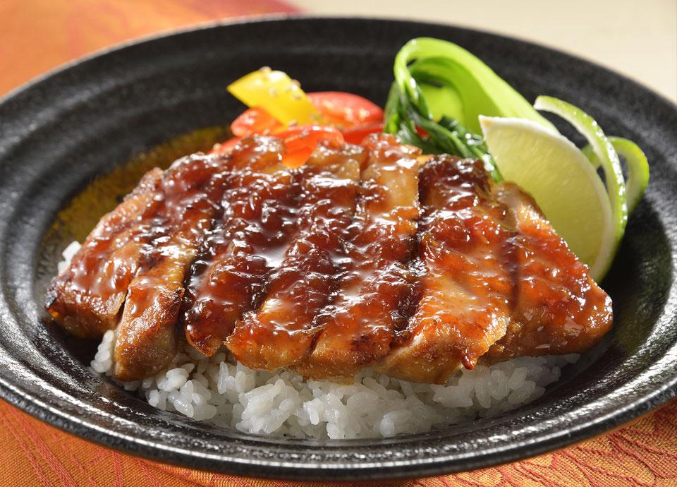 かごしま黒豚ロース肉のポークジンジャー丼 ライム風味