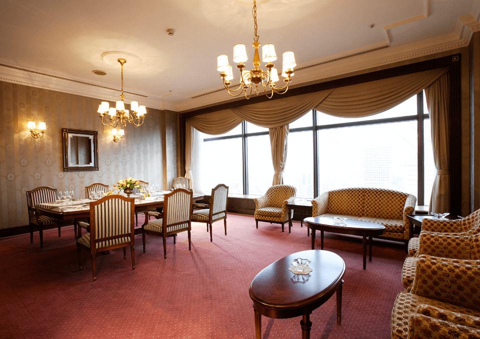 フレンチレストラン シャンボールの個室「シャンブル ド グラス」