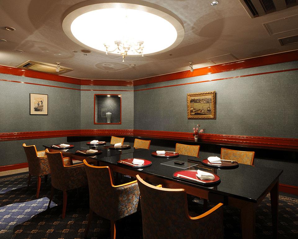 リーガロイヤルホテル(大阪)の日本料理レストラン 個室