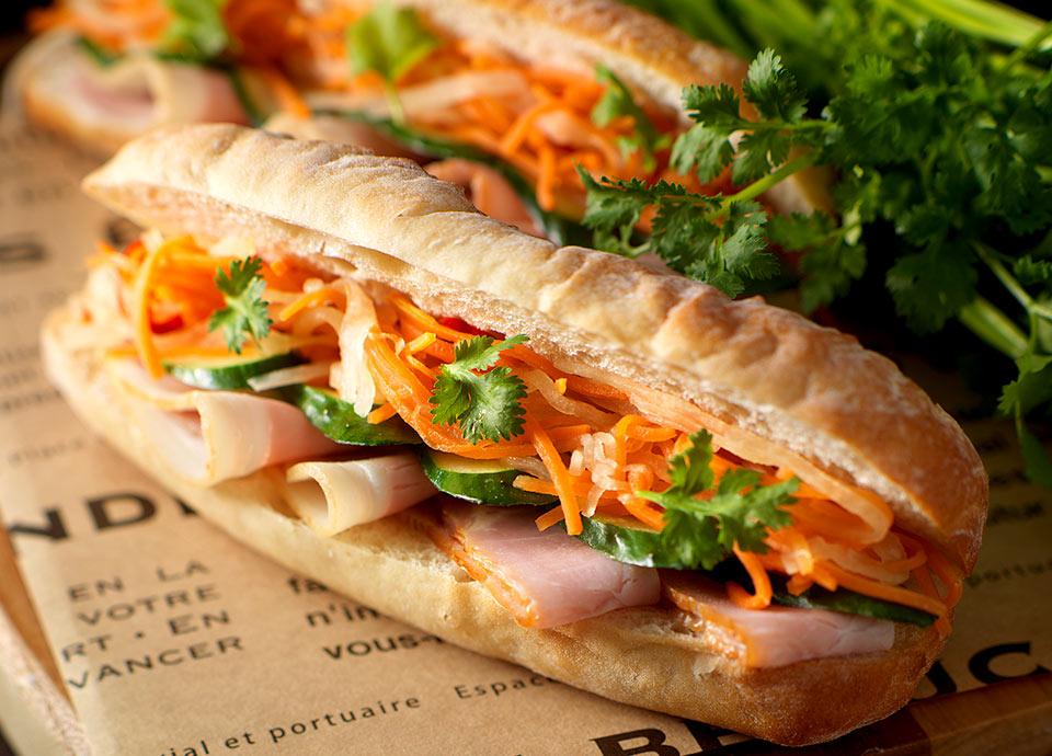 バインミー ~ベトナム風サンドイッチ~