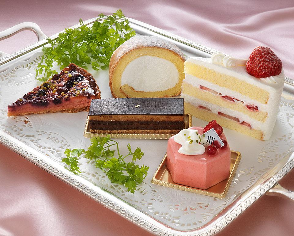 リーガロイヤルホテル(大阪)のレストラン ケーキセット