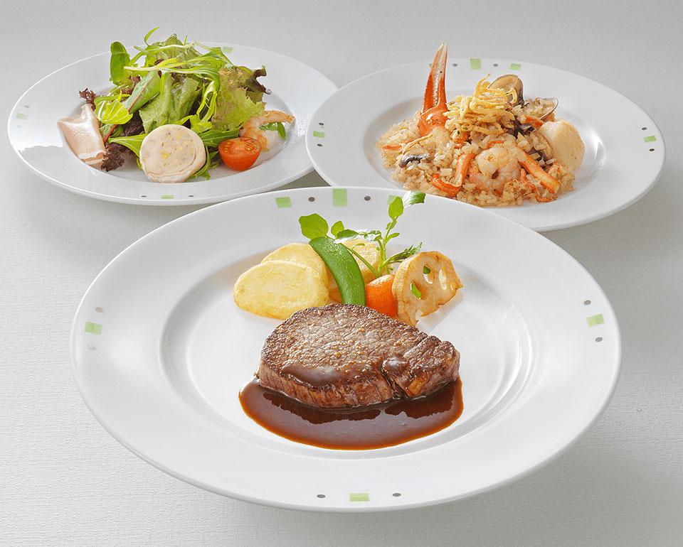 リーガロイヤルホテル(大阪)のレストラン 牛フィレステーキ