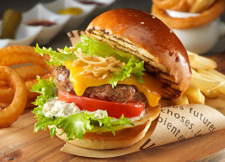 リーガロイヤルホテル(大阪)のレストラン ハンバーガー