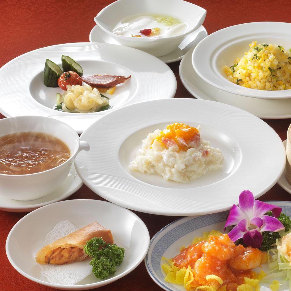 中国料理 皇家龍鳳のディナー「口福コース」