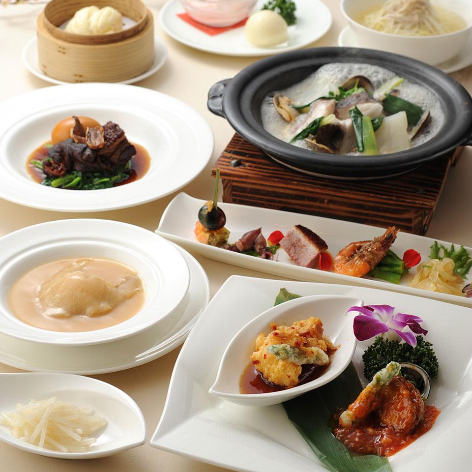 中国料理 皇家龍鳳のディナー「ロイヤルコース」