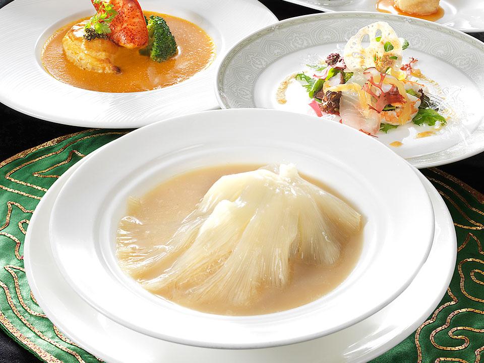 中国料理 皇家龍鳳のディナー「匠コース」