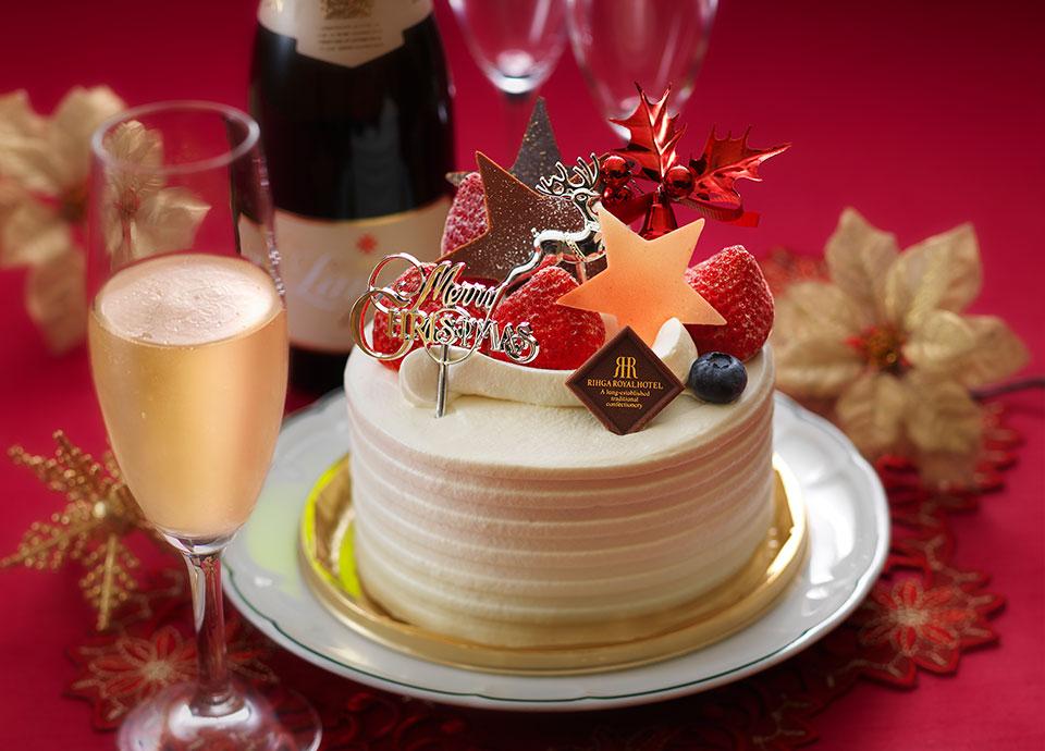 【レディースエリア】大人レディーたちのクリスマス~クリスマスケーキ・スパークリングワイン付~