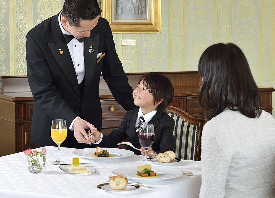 【5月4日】お子様レストランデビュー!フランス料理のフルコースランチでテーブルマナーを学ぼう
