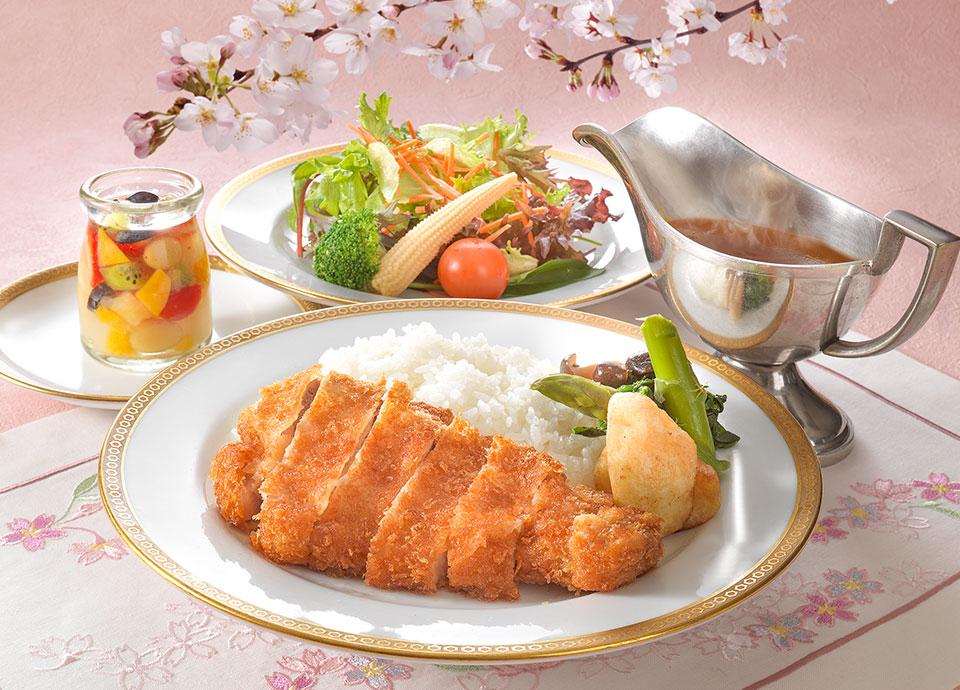 【受験生応援】サクラサク 合格祈願カツカレー付プラン~夕食付~