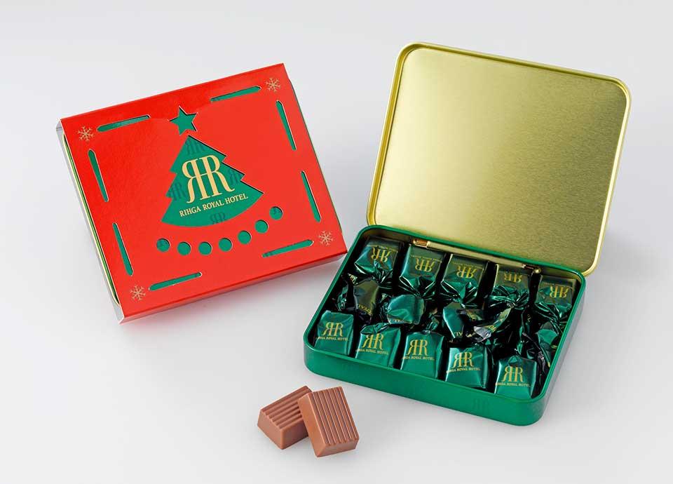 【クリスマスプレゼント企画】スタンダードプランと同額でホテル定番チョコレートをプレゼント