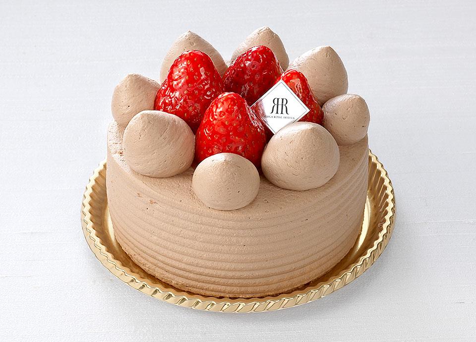 【Valentine&WhiteDay】苺のチョコデコレーションケーキ付プラン