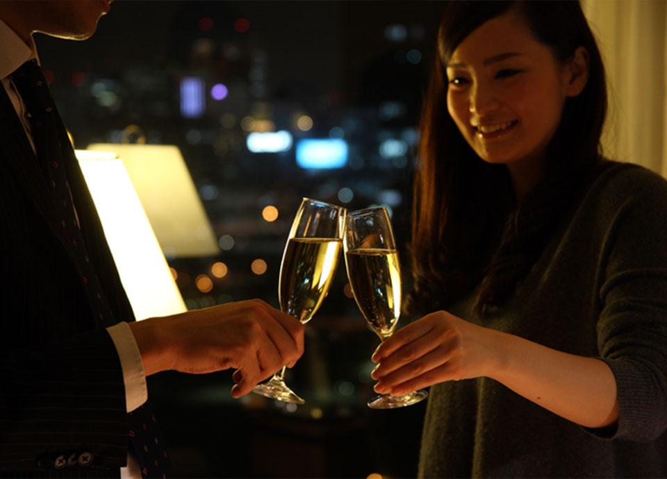 【エグゼクティブフロア】Sweet Anniversary~二人の思い出を紡ぐ特典付~