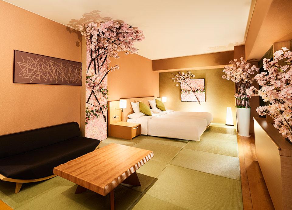 【1日1室限定】日本の春を楽しむ~桜スイートでお花見プラン~