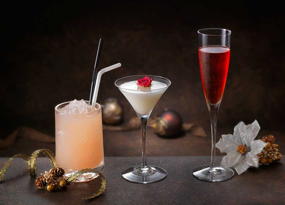 貴方だけのオリジナルカクテルで乾杯~セラーバー クリスマスディナー付宿泊プラン~