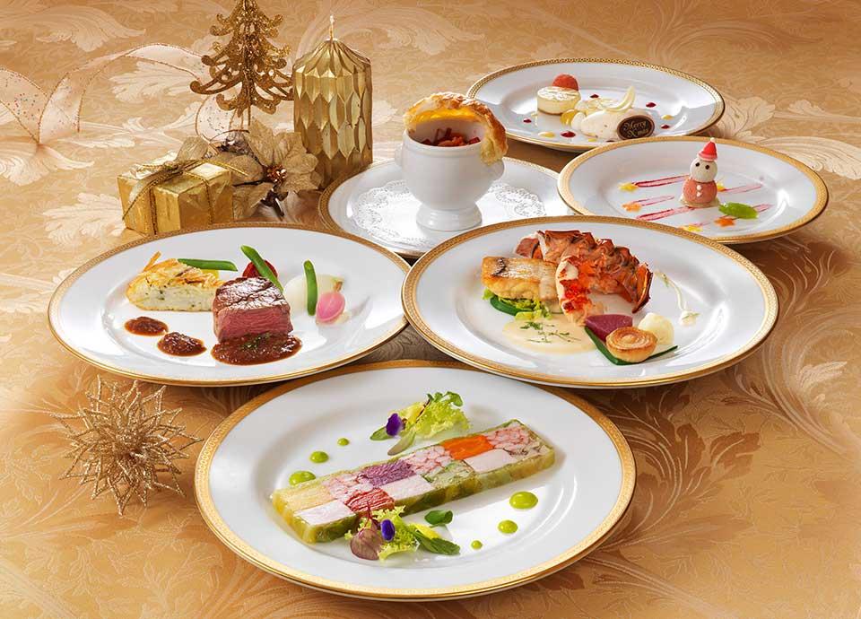 エグゼクティブフロアで過ごすプライベート・クリスマス ~二人きりのディナーをお部屋で~